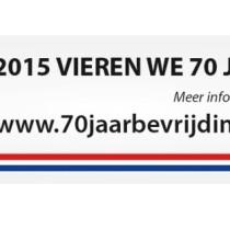 In 2015 viert Werkendam 70 jaar bevrijding.