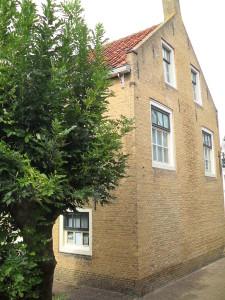 Historische boom bij Andries Visser-huis nog in vol ornaat