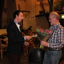 Tijdens de ledenvergadering van 12 maart 2015 neemt de Historische Vereniging afscheid van Bas voor den Dag.