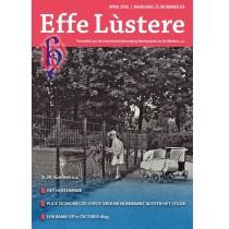 De nieuwe omslag van Effe Lùstere, periodiek van de Historische Vereniging.