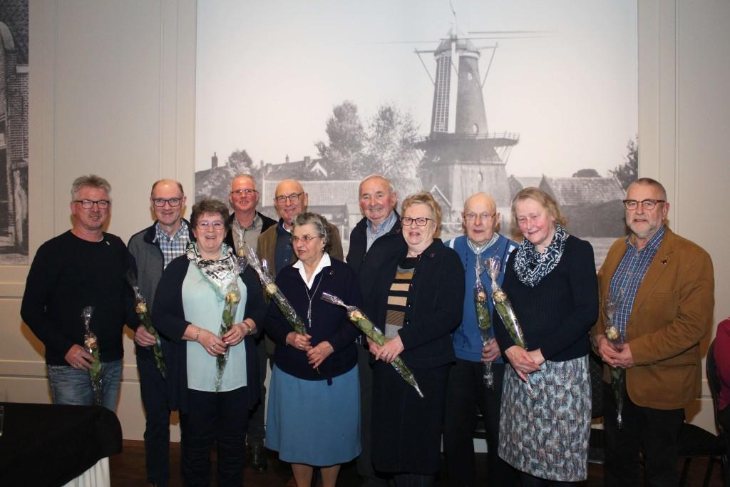 Jubilarissen Historische Vereniging Werkendam gehuldigd