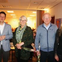 Jubilarissen bij de Historische Vereniging Werkendam en De Werken c.a.